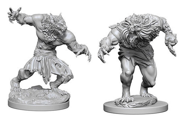 Dungeons & Dragons Nolzur`s Marvelous Unpainted Miniatures: W4 Werewolves