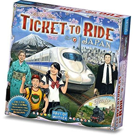 Ticket to Ride Japan & Italy