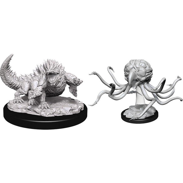 Dungeons & Dragons Nolzur`s Marvelous Unpainted Miniatures: W11 Grell & Basilisk