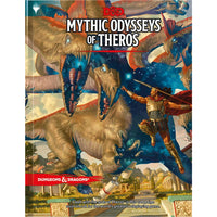 Dungeons and Dragons RPG: Mythic Odysseys of Theros (hardcover)