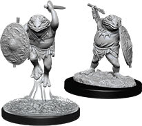 Dungeons & Dragons Nolzur`s Marvelous Unpainted Miniatures: W12 Bullywug