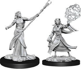 Dungeons & Dragons Nolzur`s Marvelous Unpainted Miniatures: W12 Female Elf Sorcerer