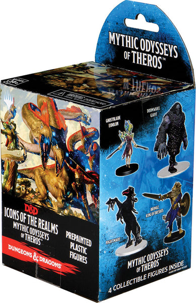 Dungeons & Dragons Fantasy Miniatures: Icons of the Realms Set 16 Mythic Odysseys of Theros Booster