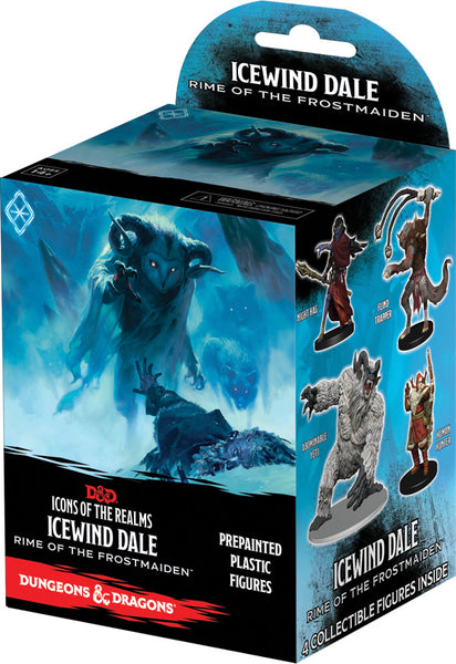 Dungeons & Dragons Fantasy Miniatures: Icons of the Realms Set 17 Icewind Dale: Rime of the Frostmaiden Booster