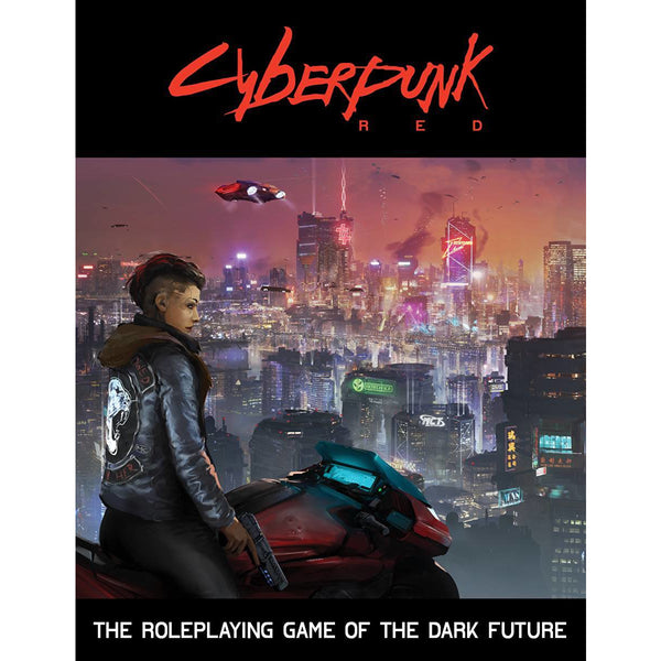 Cyberpunk Red: Core Rulebook