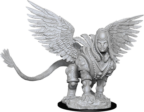 Magic the Gathering Unpainted Miniatures: W13 Isperia Law Incarnate (Sphinx)