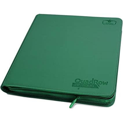 Ultimate Guard: Quadrow Zipfolio - Green