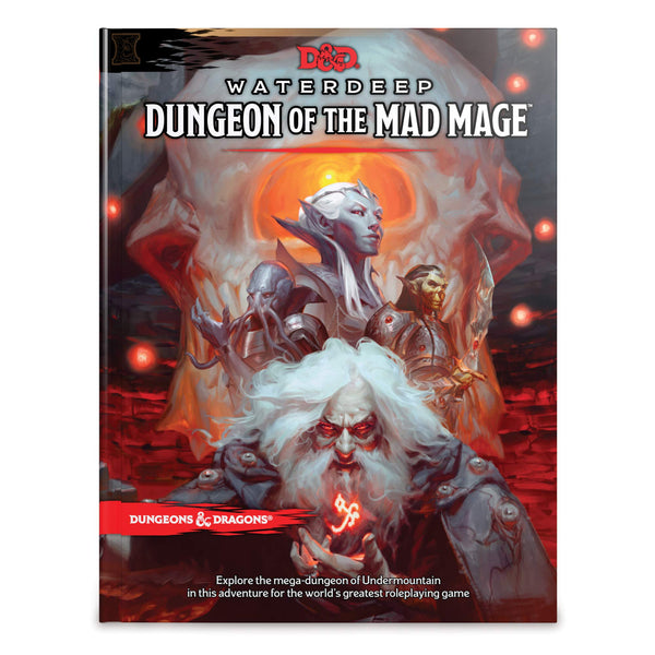 Dungeons and Dragons 5e: Dungeon of the Mad Mage (hardcover)