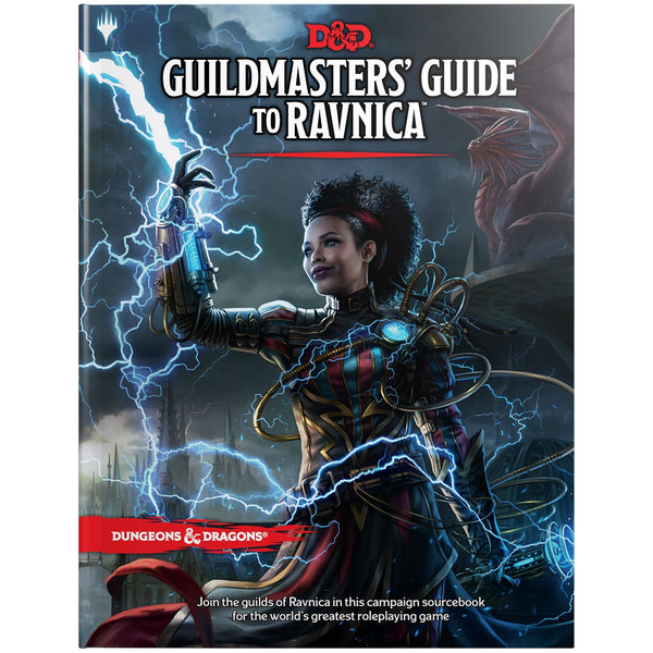 Dungeons and Dragons 5e: Guildmasters Guide to Ravnica (hardcover)
