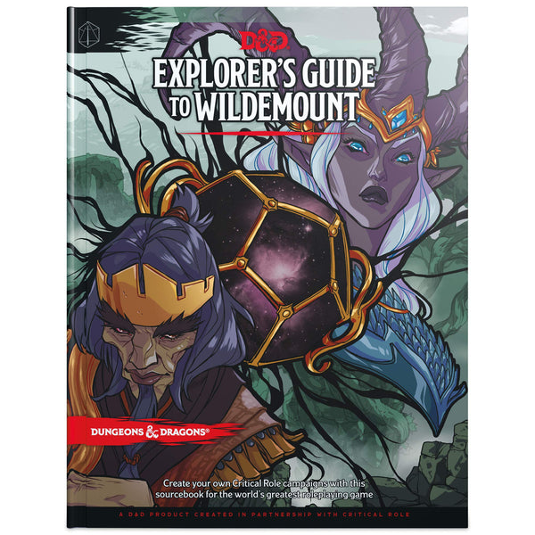 Dungeons and Dragons 5e: Explorers Guide to Wildemount (hardcover)