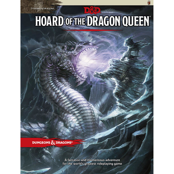 Dungeons and Dragons 5e: Hoard of the Dragon Queen (hardcover)