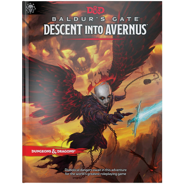 Dungeons and Dragons 5e: Baldur's Gate - Descent Into Avernus (hardcover)