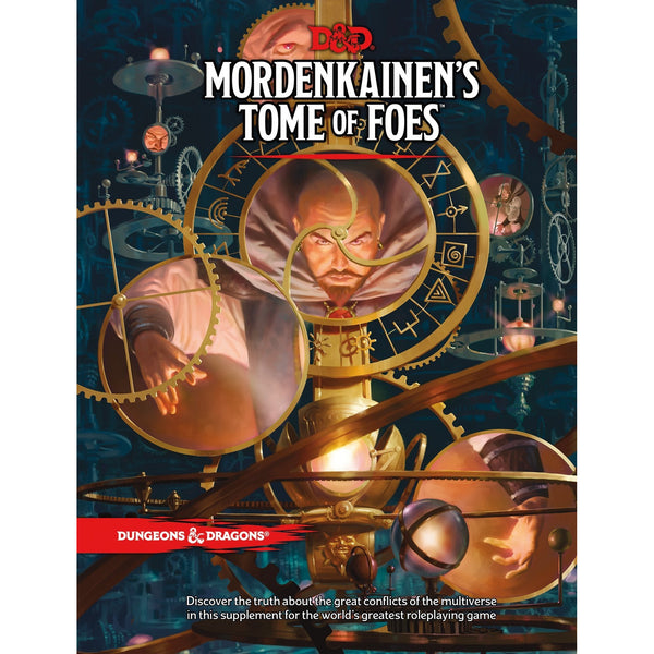 Dungeons and Dragons 5e: Mordenkainen's Tome of Foes (hardcover)