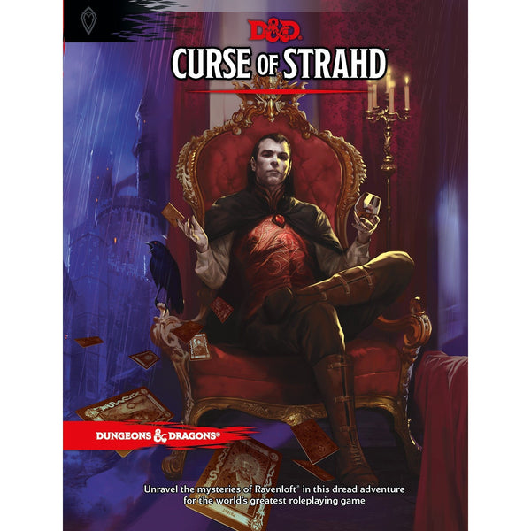 Dungeons and Dragons 5e: Curse of Strahd (hardcover)