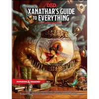 Dungeons and Dragons 5e: Xanathar's Guide to Everything (hardcover)