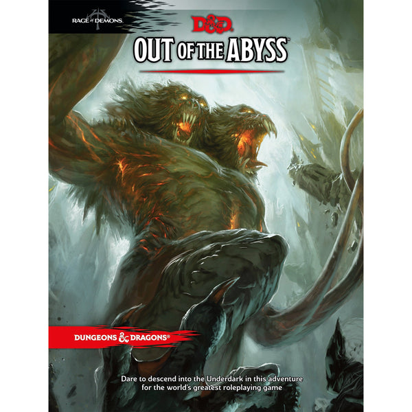 Dungeons and Dragons 5e: Out of the Abyss (hardcover)