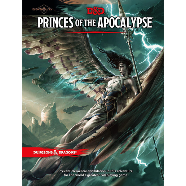 Dungeons and Dragons 5e: Princes of the Apocalypse (hardcover)