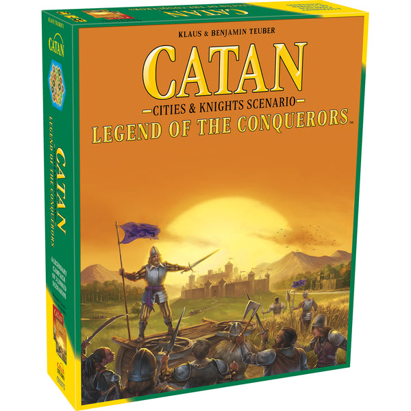 Catan: Legend of the Conquerors (Scenario for Cities & Knights Expansion)
