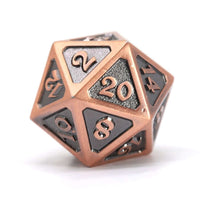 Die Hard Dice D20 25mm - Mythica Battleworn Copper