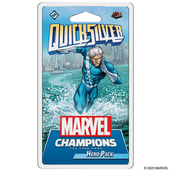 Marvel Champions LCG: Quicksilver Hero Pack
