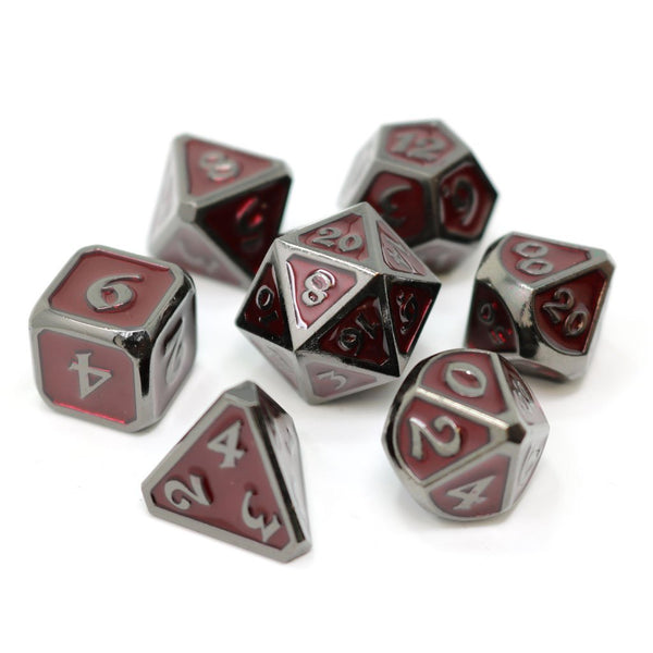Die Hard 7-Dice Set - Mythica Sinister Ruby