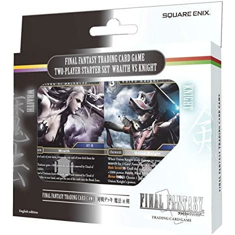 Final Fantasy TCG Two Player Starter Deck Wraith Vs Knight