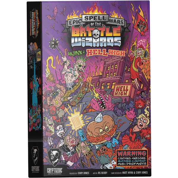 Epic Spell Wars of the Battle Wizards: 5 - Hijinx at Hell High