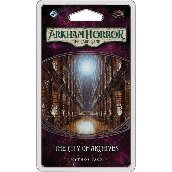 Arkham Horror LCG: The City of Archives Mythos Pack (Forgotten Age 4)