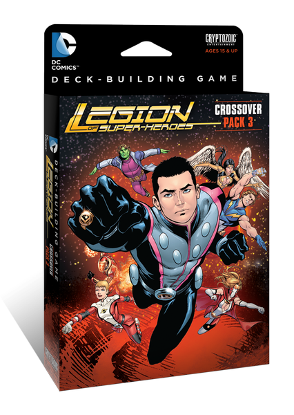 DC Comics Deck-Building Game: Crossover Expansion Pack 3 - Legion of Super Heroes