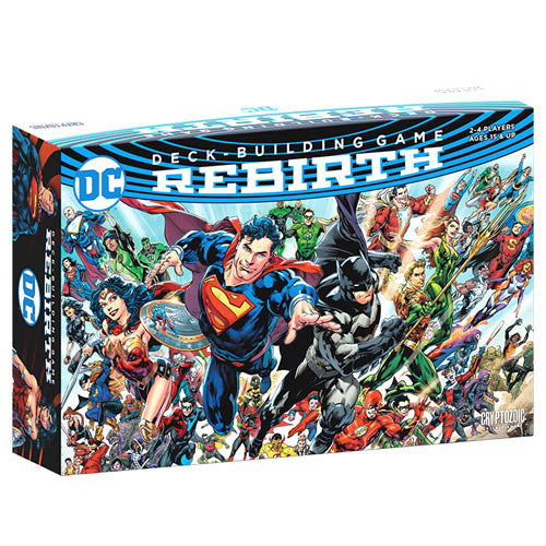 DC Comics Deck-Building Game: Rebirth (stand alone or expansion)