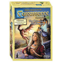 Carcassonne: Expansion 3 - The Princess and the Dragon
