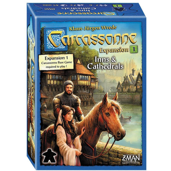 Carcassonne: Expansion 1 - Inns and Cathedrals