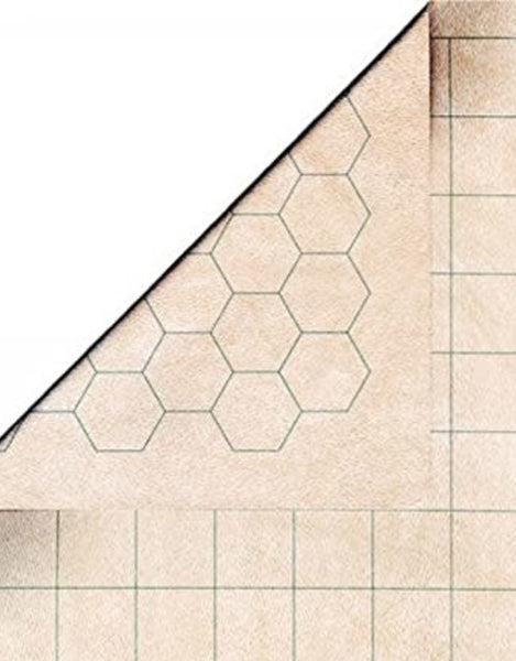 Reversible Double Sided Battlemat 1.5 Inch Hexes