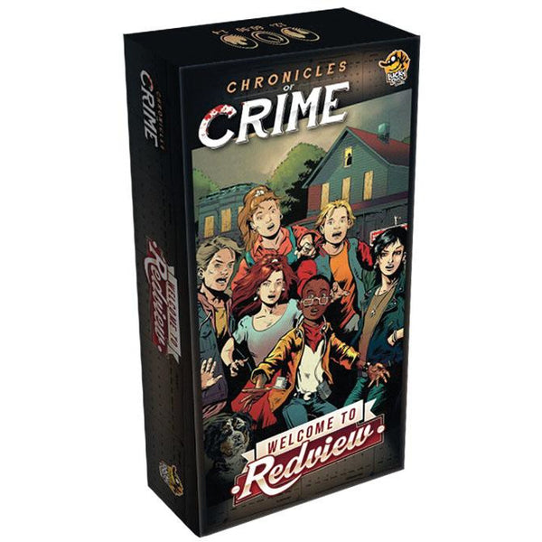 Chronicles of Crime: Welcome to Redview Expansion