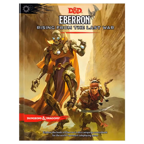 Dungeons and Dragons 5e: Eberron - Rising from the Last War (hardcover)