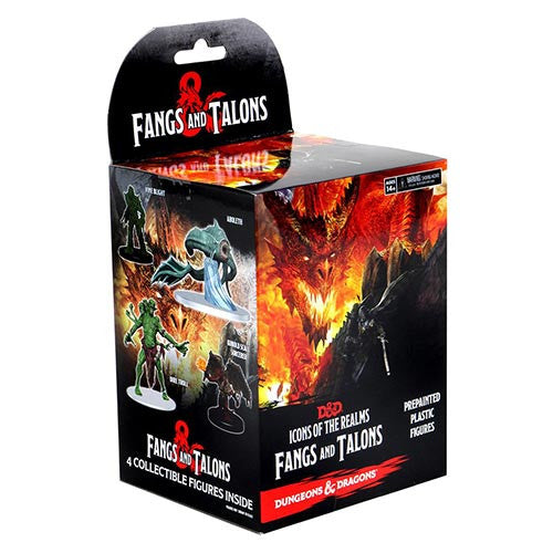 Dungeons & Dragons: Icons of the Realms Fangs and Talons Booster Box