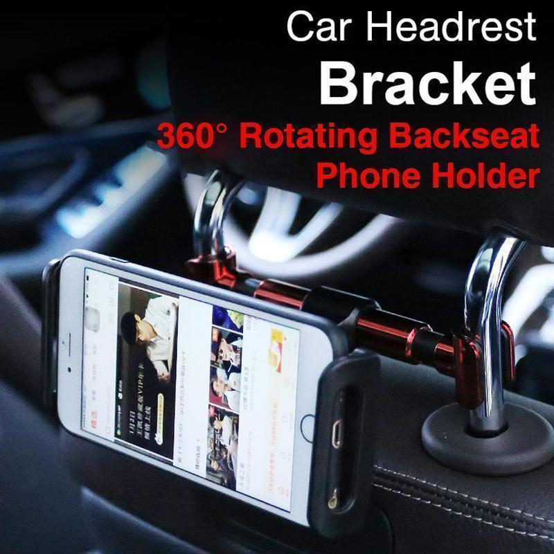 360° Rotating Backseat Phone Holder