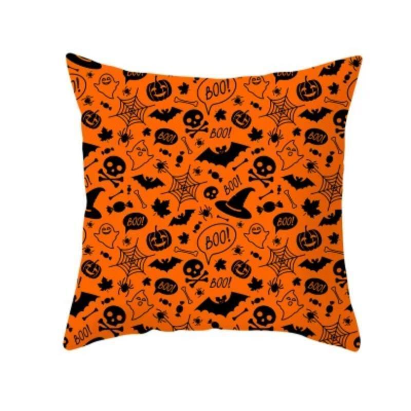 Halloween Decoration Pumpkin Cushion Cover