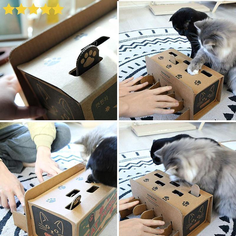 Cat Punch Cat toy Corrugated Cardboard