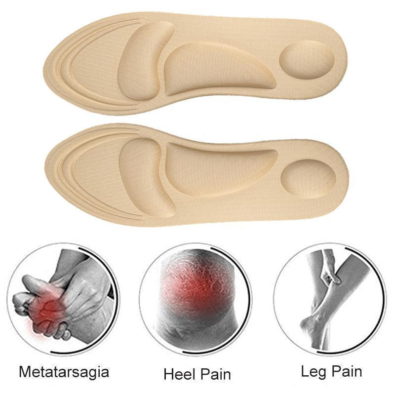 4D Arch Support Memory Foam Insole