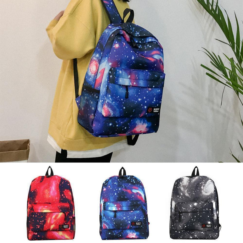 Galaxy Backpack Unisex School Backpack Cute Bag