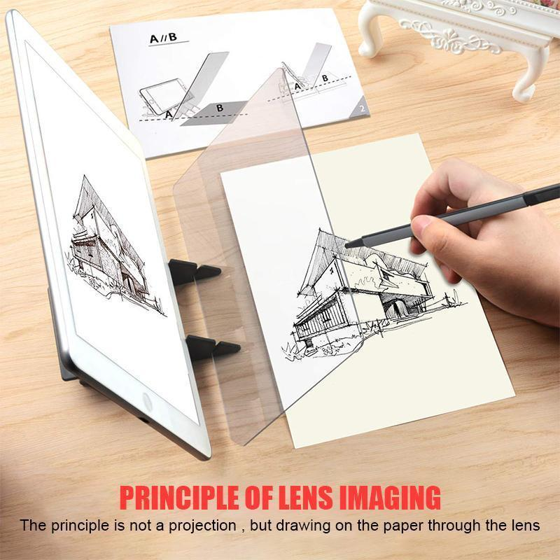 Optical Image Drawing Board