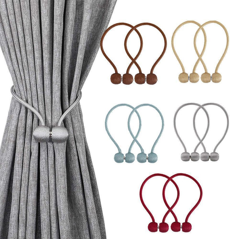 Elegant Magnetic Curtain Buckle, 2 PC