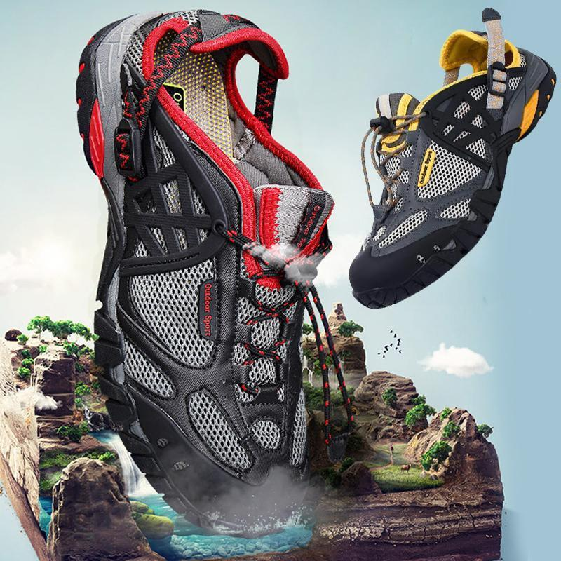 Men's Breathable Outdoor Mesh Water Shoes
