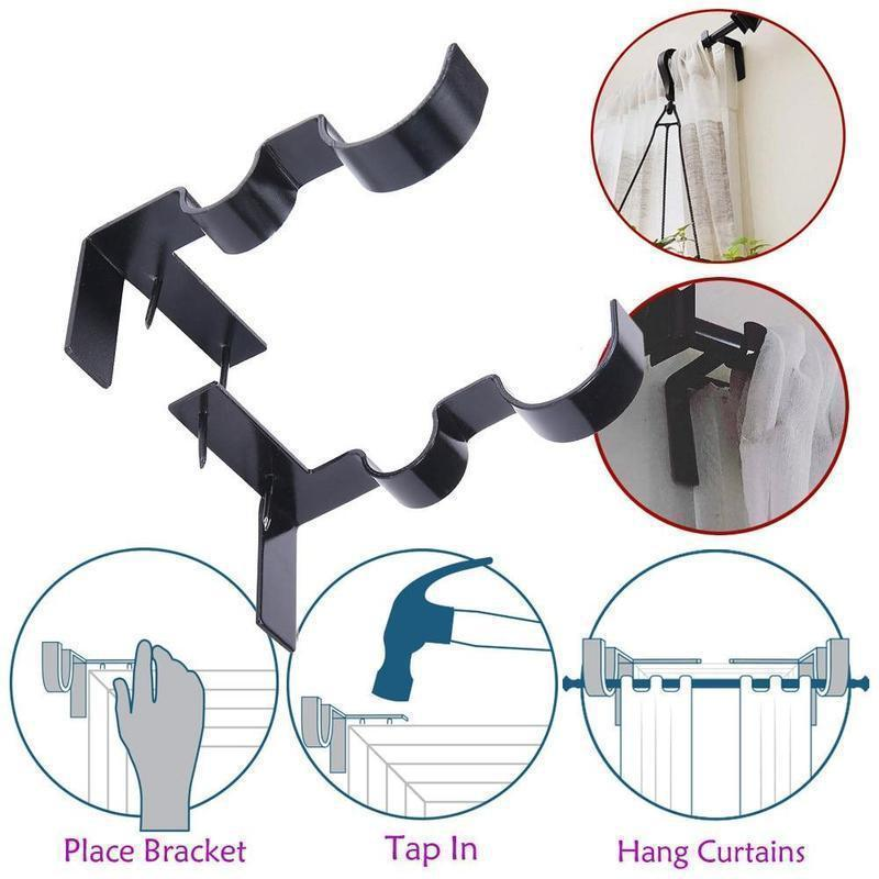 Curtain Rod Brackets