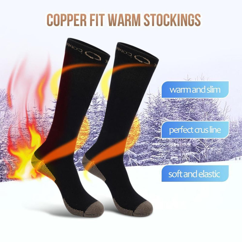 Copper Fit Warm Stockings