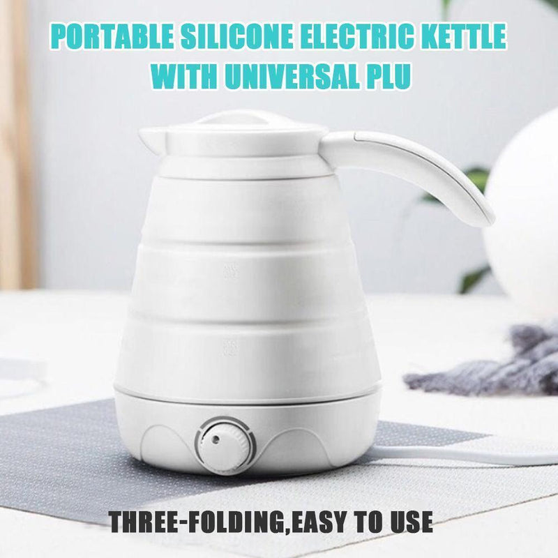 Portable Electric Kettle With Universal Plug