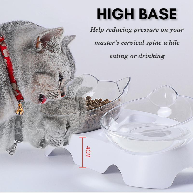 Cat Feeding Bowl (Single/Double)