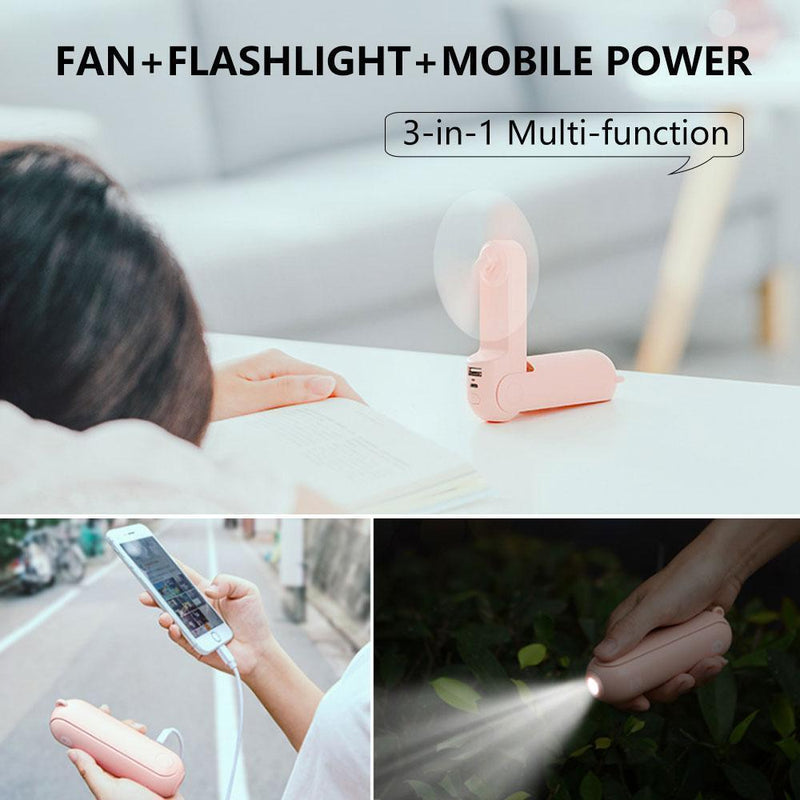 Multi-functional Mini Folding Fan