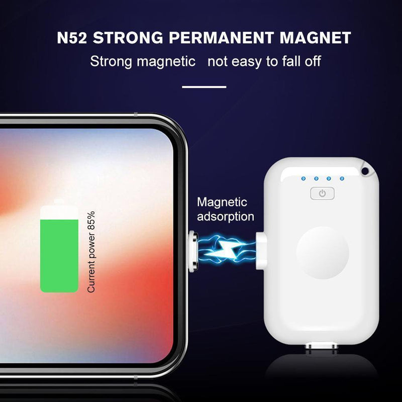 Fast Charging Mini Magnetic Power Bank